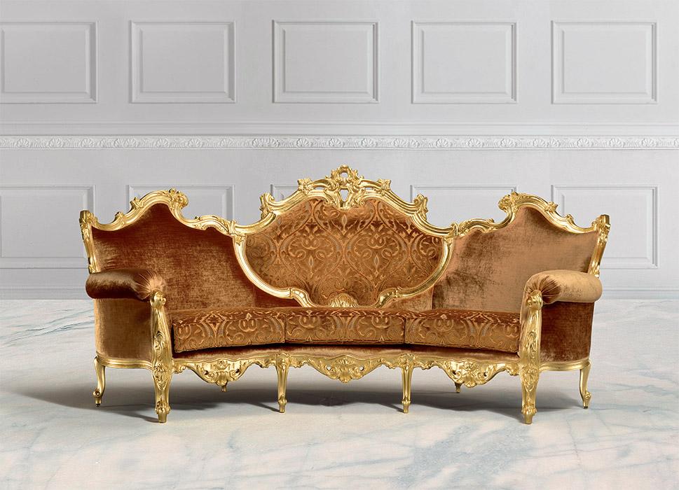 Art. 8009 Divano 3 posti 3-seater sofa L 264 P 90/127 H 122 cm