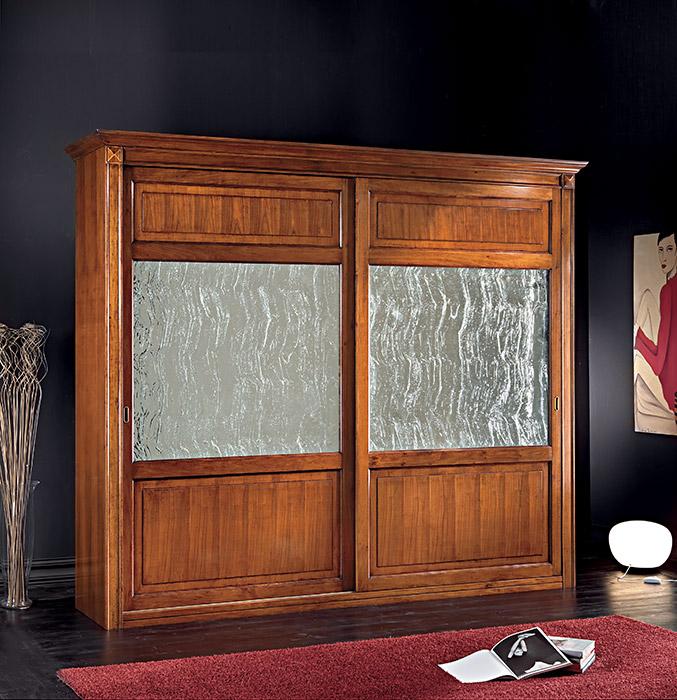 Art. 6170/C Armadio 2 ante scorrevoli 2-sliding door wardrobe L 300 P 68 H 255 cm